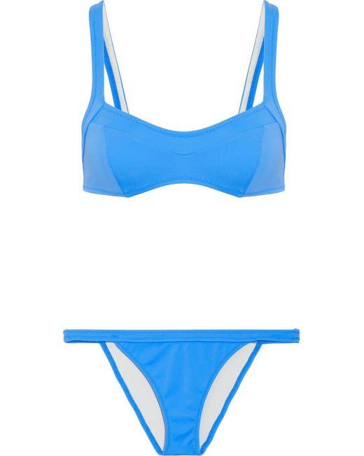 Solid & Striped - Blue The Molly Bikini - Lyst