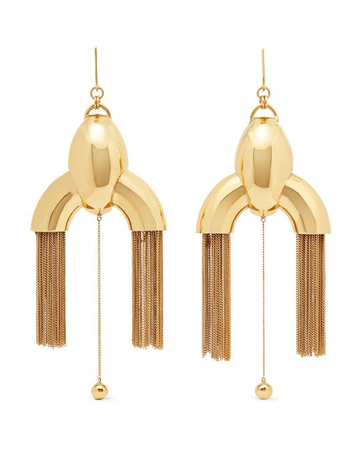 Ellery | Metallic Anthology Gold-plated Earrings | Lyst