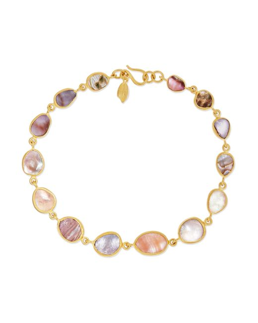 Pippa Small | Metallic 18-karat Gold Shell Bracelet | Lyst