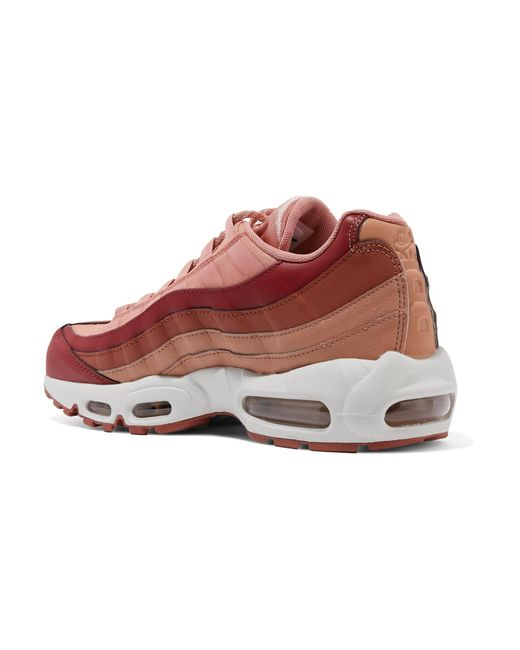 aa3f207059 ... Nike - Multicolor Air Max 95 Suede And Leather Sneakers - Lyst ...