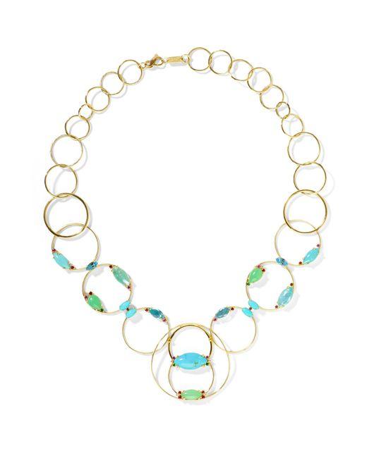 Ippolita - Metallic Prisma 18-karat Gold Multi-stone Necklace Gold One Size - Lyst