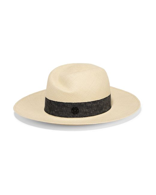 Maison Michel | Natural Virginie Straw Sunhat | Lyst