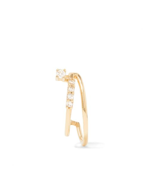 Sansoeurs - Metallic 18-karat Gold Diamond Earring - Lyst