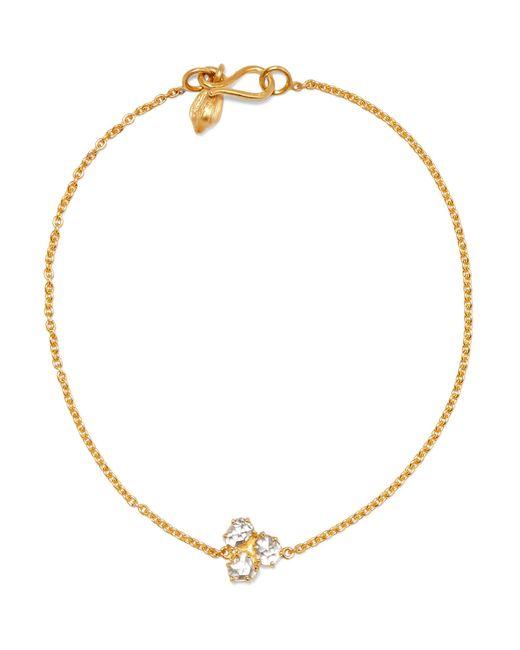 Pippa Small | Metallic 18-karat Gold Diamond Bracelet | Lyst