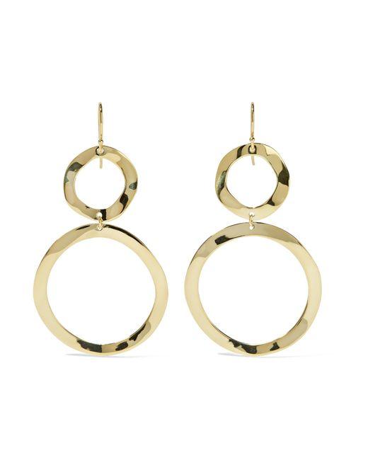 Ippolita | Metallic Glamazon Snowman 18-karat Gold Earrings | Lyst