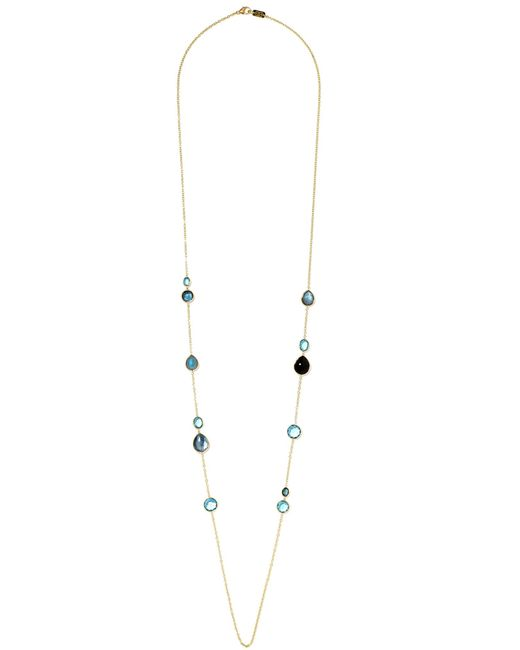 Ippolita | Metallic Rock Candy Lollipop 18-karat Gold Topaz Necklace | Lyst