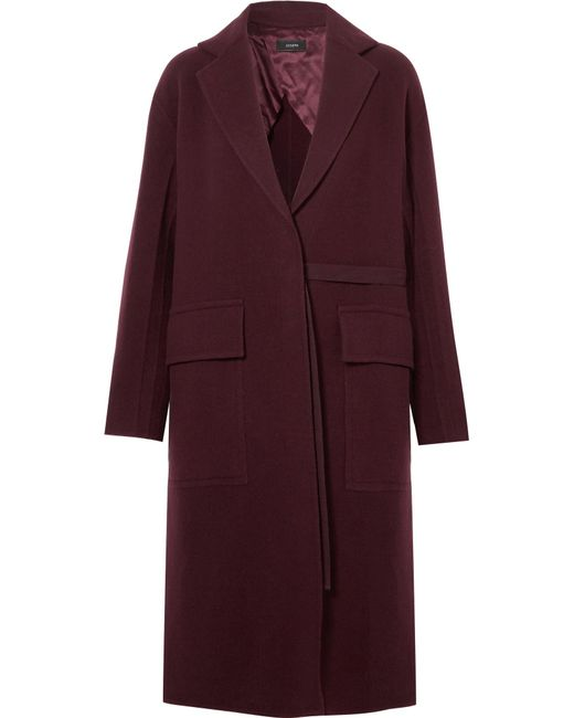 Joseph - Multicolor Silla Wool And Cashmere-blend Coat - Lyst