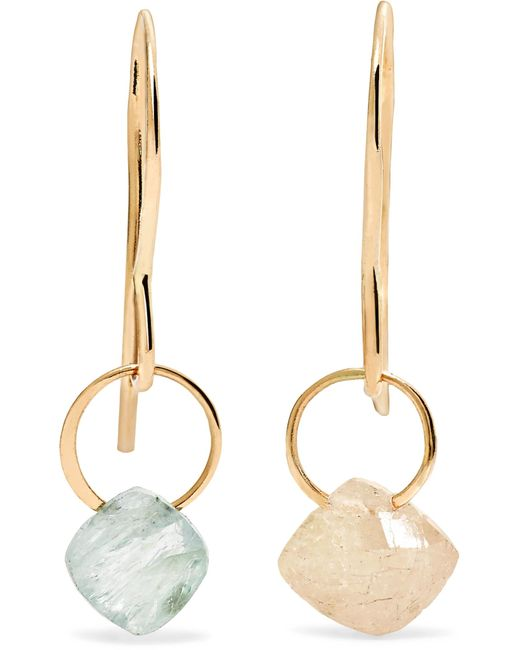 Melissa Joy Manning | Metallic 14-karat Gold Sapphire Earrings | Lyst