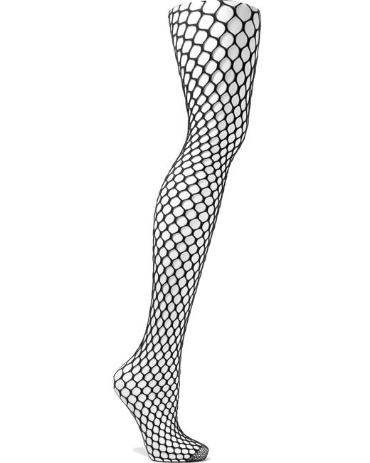 Wolford | Black Madeline Fishnet Tights | Lyst
