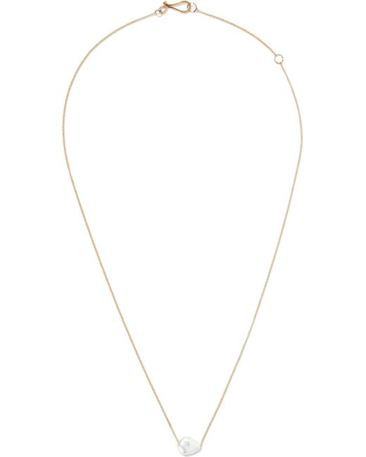 Melissa Joy Manning - Metallic 14-karat Gold Pearl Necklace - Lyst