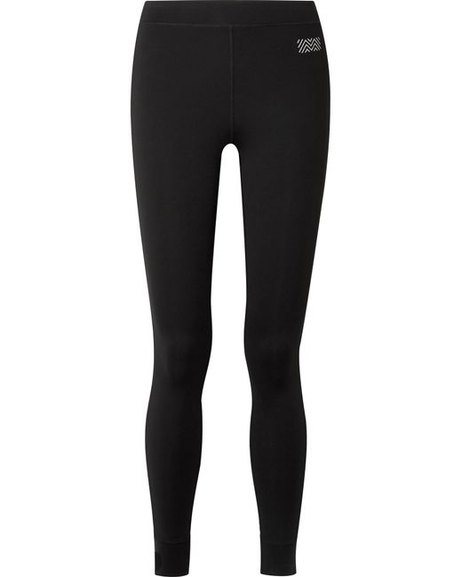 Monreal London - Black Athlete Striped Stretch Leggings - Lyst