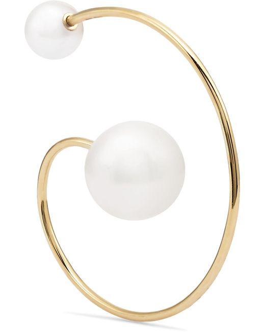 Sophie Bille Brahe - Metallic Babylon 14-karat Gold Pearl Earring - Lyst