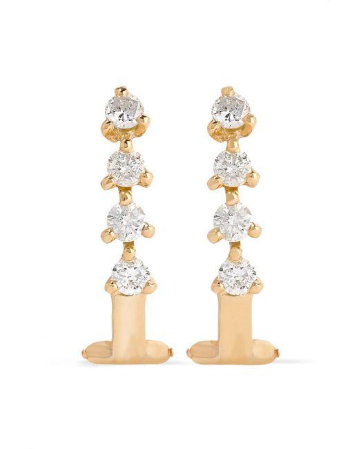 Ana Khouri | Metallic Manoela 18-karat Gold Diamond Earrings | Lyst