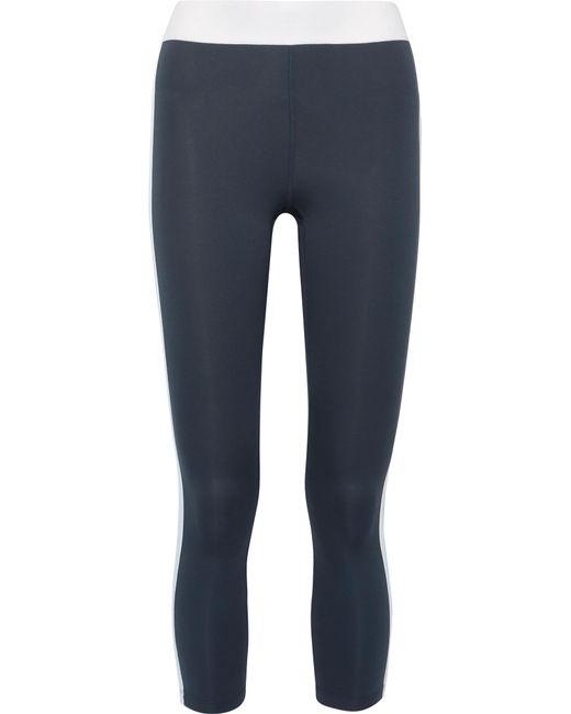 Heroine Sport - Blue Exerciser Paneled Stretch Leggings - Lyst