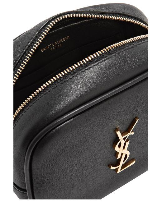 c854163f79 ... Saint Laurent - Black Monogramme Blogger Leather Shoulder Bag - Lyst