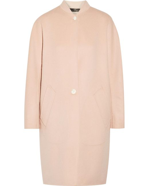 Rag & Bone | Pink Darwen Wool And Cashmere-blend Coat | Lyst