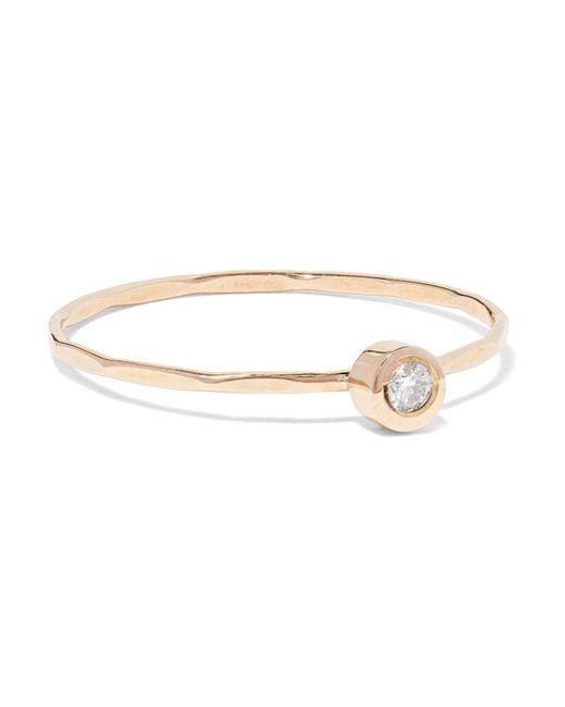 Melissa Joy Manning - Metallic 14-karat Gold Diamond Ring Gold 5 - Lyst