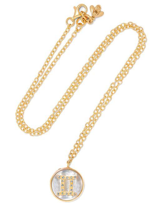 Carolina Bucci | Metallic Gemini Lucky 18-karat Rose Gold Multi-stone Necklace | Lyst