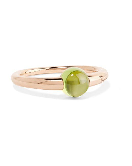 Pomellato | Metallic M'ama Non M'ama 18-karat Rose Gold Peridot Ring | Lyst