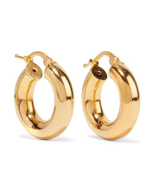 Sophie Buhai - Metallic Gold Vermeil Hoop Earrings - Lyst