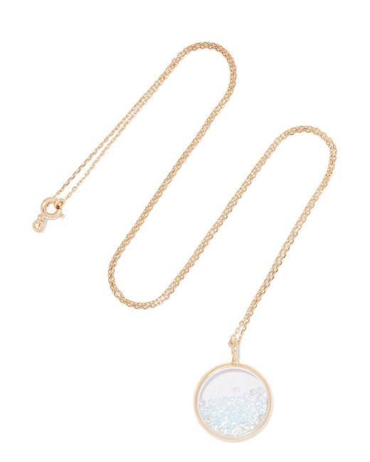 Aurelie Bidermann - Metallic Baby Chivor 18-karat Gold Topaz Necklace - Lyst