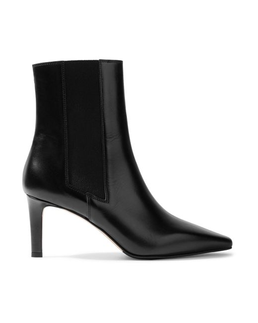 Aeyde - Black Leila Leather Ankle Boots - Lyst