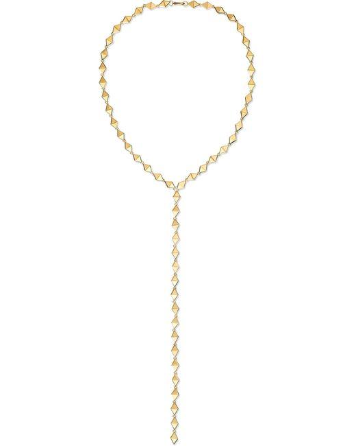 Melissa Kaye - Metallic Chloe 18-karat Gold Necklace - Lyst