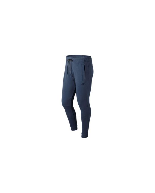 New Balance - Blue NB Athletics Knit Pant for Men - Lyst