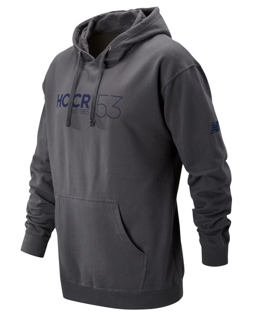 New Balance   Gray Hocr Hooded Pullover for Men   Lyst