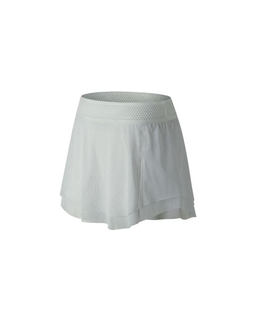 New Balance - White Tournament Skort - Lyst