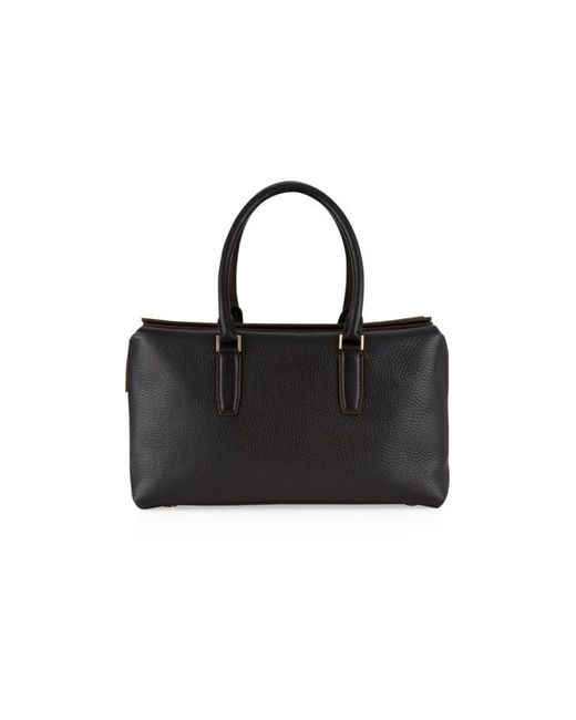 Nicole Farhi | Black Aella Top Handle Bag | Lyst