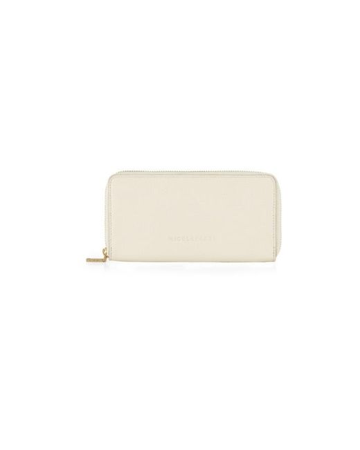 Nicole Farhi | White Large Bubble Zip Purse | Lyst
