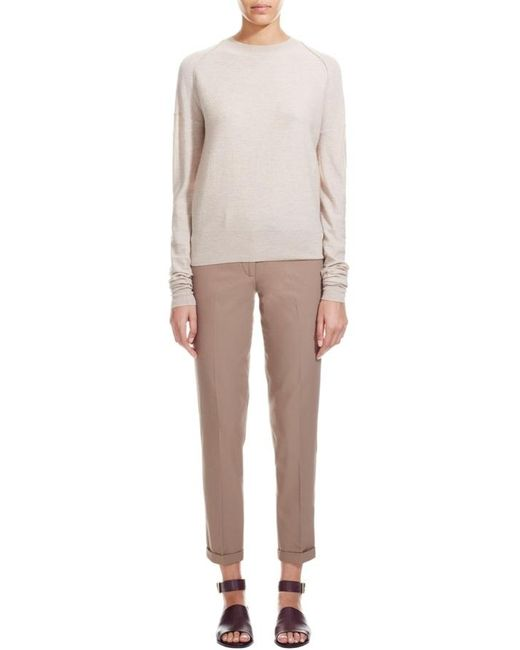 Nicole Farhi | Natural The Courtauld Jumper | Lyst