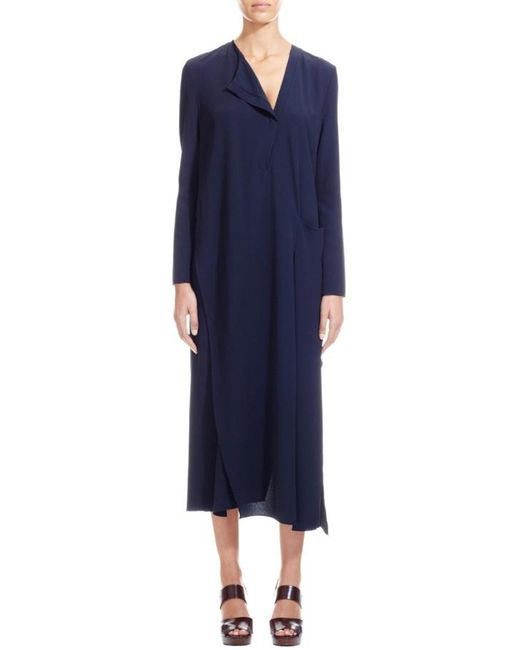 Nicole Farhi | Blue The Fredrik Dress | Lyst