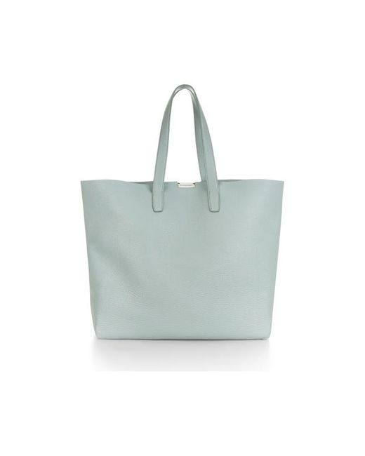 Nicole Farhi | Green Morral Unlined Tote Bag | Lyst