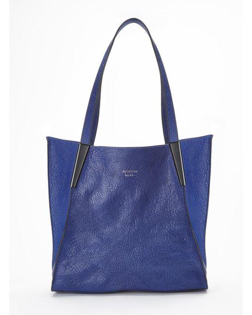 Nicole Miller | Blue Tres Bon Tote Bag | Lyst