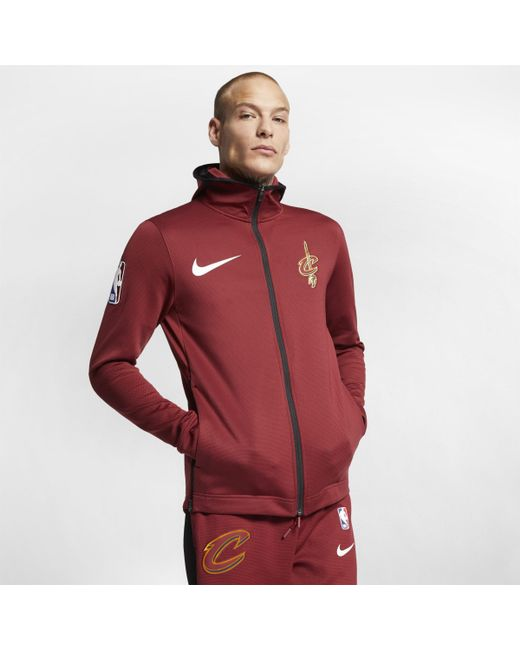 6b72b9c77 Nike - Red Cleveland Cavaliers Therma Flex Showtime Nba Hoodie for Men -  Lyst