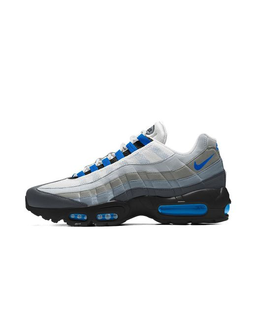 1c4bdc8ace9 Lyst - Nike Air Max 95 Id Men s Shoe in Blue for Men - Save 10%