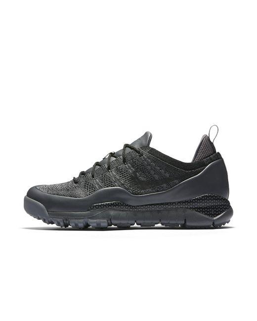 Nike | Gray Lupinek Flyknit Low Men's Shoe for Men | Lyst
