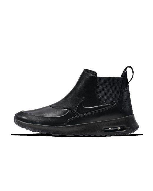 nike lab air max thea mid pinnacle women 39 s shoe in black. Black Bedroom Furniture Sets. Home Design Ideas