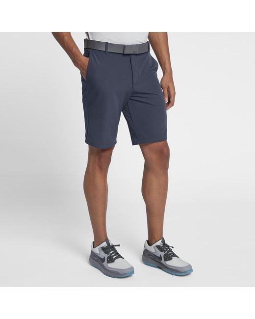 5cd9ec1cbf67 Lyst - Nike Flex Men s Golf Shorts in Blue for Men