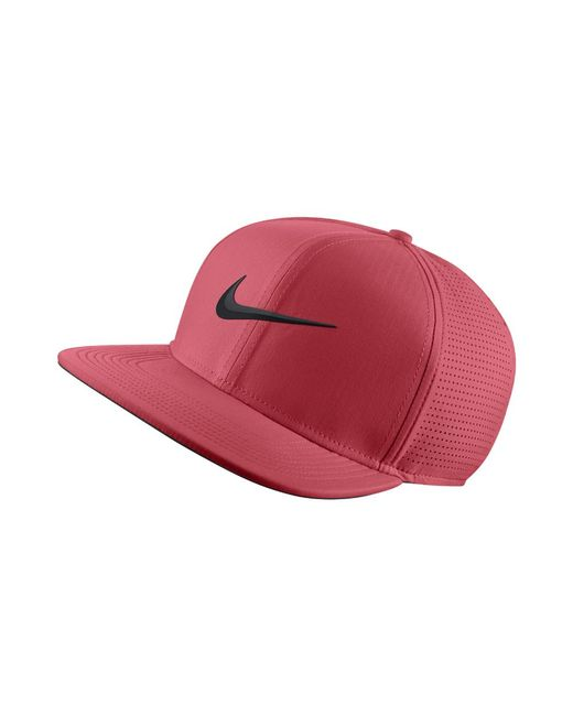 Nike - Aerobill Adjustable Golf Hat (pink) - Clearance Sale for Men - Lyst f54f25b2a651