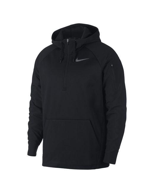 Nike - Black Therma Utility-Trainings-Hoodie mit Viertelreißverschluss für Herren for Men - Lyst