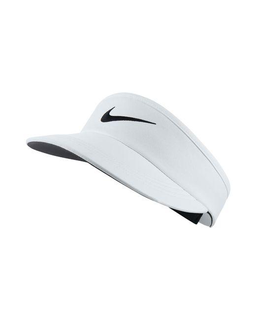 Nike | Tall Adjustable Golf Visor (white) | Lyst