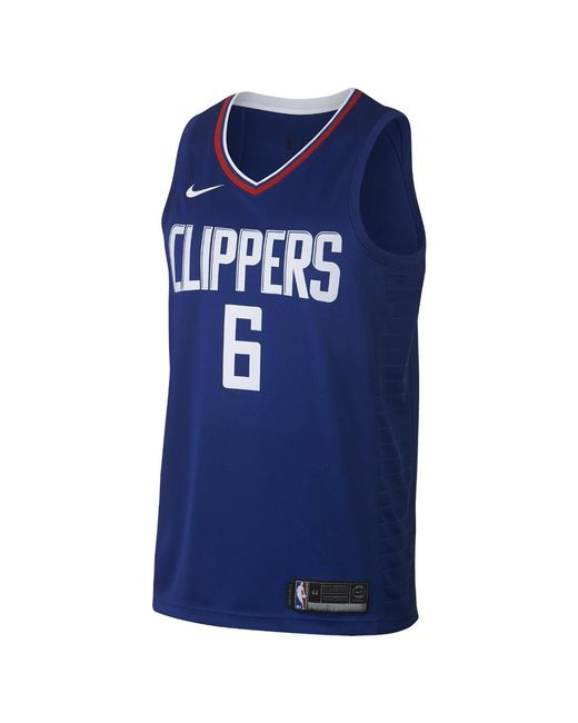 728c375c9b0e Nike - Blue Deandre Icon Edition Swingman Jersey (la Clippers) Men s Nike  Nba Connected