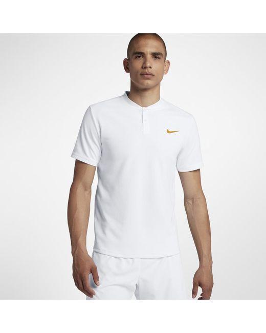 b66477081e7a Nike - White Court Dri-fit Advantage Men s Tennis Polo Shirt for Men - Lyst