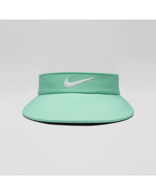 5aaf346914e Lyst - Nike Aerobill Big Bill Women s Golf Visor (green) in Green