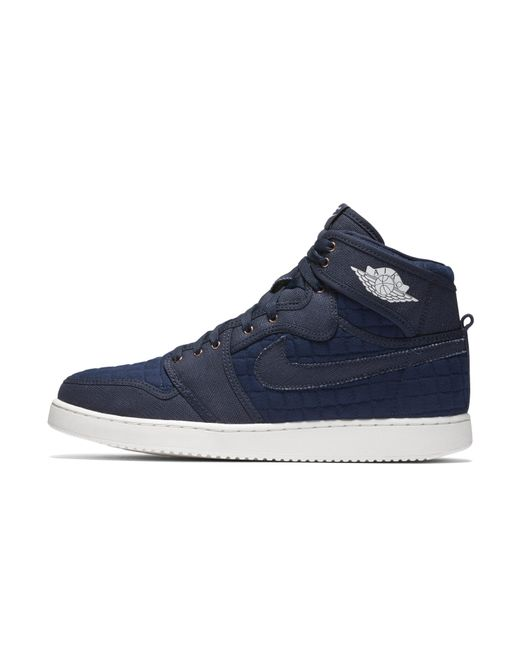 0f11e92928b7fa Nike - Blue Air Jordan 1 Ko High Og Shoe for Men - Lyst ...
