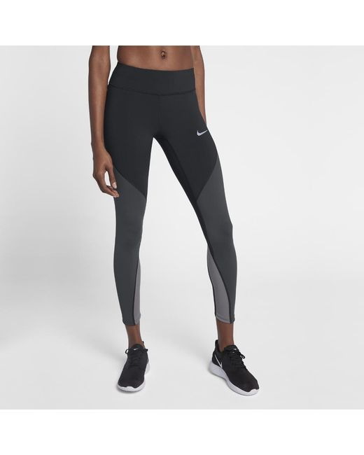 Lyst - Nike Epic Lux Women s Running Tights in Black 35e3a669f004