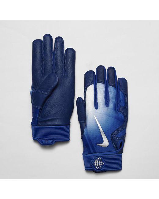 d42cf2073e08 Lyst - Nike Huarache Elite Baseball Batting Gloves in Blue for Men